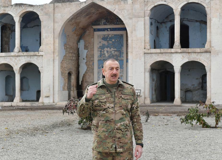 Azərbaycan Prezidenti: Dedim, Paşinyan, sən özün bizə tarix verməlisən, özün deməlisən və buna nail oldum