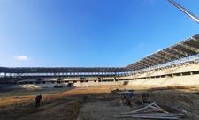 Sumqayıtda yeni stadionun tikintisi yekunlaşmaq üzrədir - FOTO
