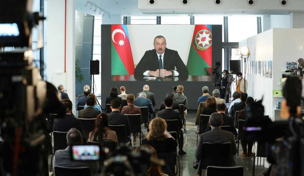Prezident İlham Əliyev: Rusiya və Azərbaycan dost ölkələrdir