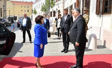 Sahibə Qafarova Macarıstanın Baş naziri ilə görüşüb - FOTO