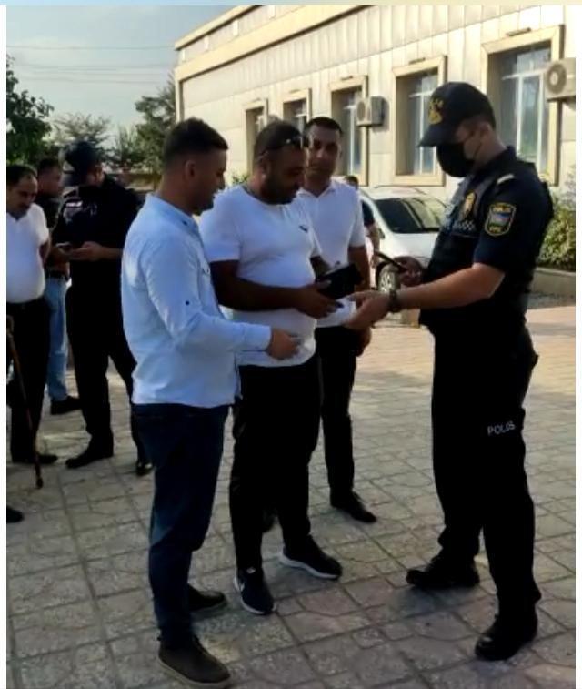 Beyləqanda polis əməkdaşları şadlıq saraylarına reydlər keçirib - FOTO