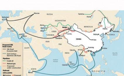 Çinin Yeni İpək Yolu layihəsi